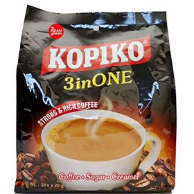 Kopiko Strong and Rich Kaw Coffee 3 in 1 30 Sachets Packet, 600g