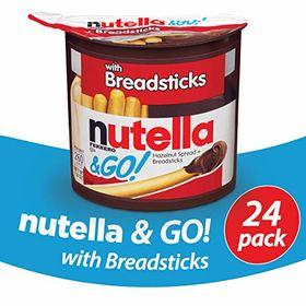 NG Breadsticks Pack of 24 Nutella and Go 24 Count Pack of 24