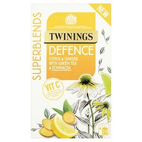 Twinings Defence Citrus & Ginger With Green Tea & Echinacea 20 Bags
