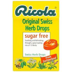 Ricola Original Sugar Free Swiss Herb Drops 45 g (Pack of 10)