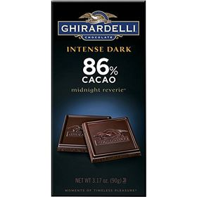 Ghirardelli 86% Cacao Intense Dark Midnight Reverie, 90g