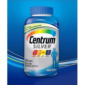 Centrum Silver Men 50+ Multivitamins- 250 Tablets