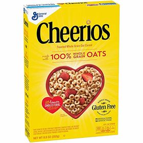 Cheerios Whole Grain Oat Cereal, 252g
