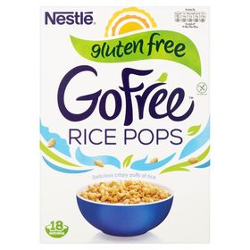 Nestle Gluten Free Rice Pops Cereal, 550g