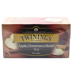 Twinings Of London Apple, Cinnamon & Raisin Tea, 25 Bags (50 grams)