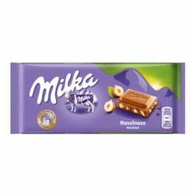 Milka Haselnuss (Hazelnut Chocolate Bar), 100g