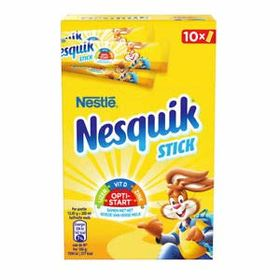 Nestle Nesquik Stick Mix for Cocoa Drink Box (10 X 13.85g), 138.5g