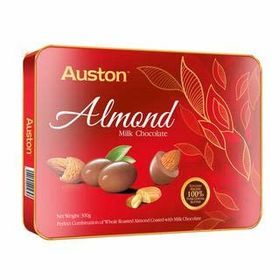 Auston Malaysia Almond Milk Chocolates, 180 g