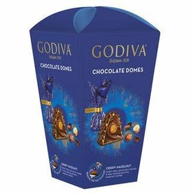 Godiva Chocolate Domes Cripy Hazelnut Milk Chocolate with Hazelnut Center Box, 150g