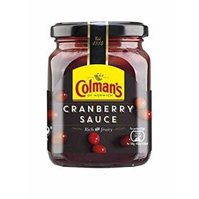 Colman's Cranberry Sauce Bottle, 165g