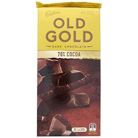Cadbury Mondelez Old Gold Dark Chocolate (200 g)