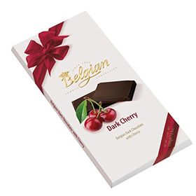 Belgian Dark Cherry Bar 100g