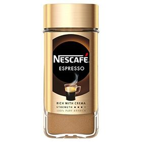 Nescafe Espresso-100% Pure Arabica Coffee Rich with Velvety Crema - 100 Grams