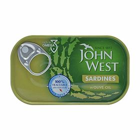 John West Sardines in Oilve Oil, 120g