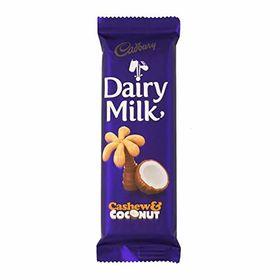 Cadbury Dairy Milk Cashew & Coconut Chocolate Bar, 80g
