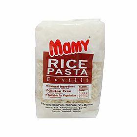 Mamy Rice Pasta Fusilli, 500gm