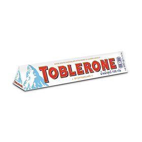 Toblerone Swiss White Chocolate, 100g