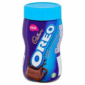 Combo of Cadbury Oreo Flavour Instant Hot Chocolate Drink, 260g and Silver Plated Coin
