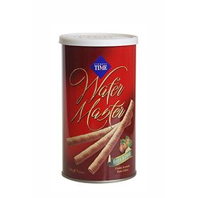 Cizmeci Time Wafer Master Sticks, Hazelnut Cream, 250g