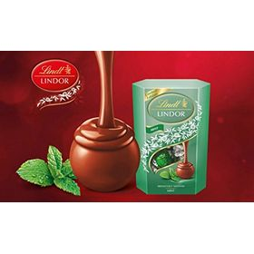 Lindt Lindor Mint Chocolate Truffles, 200g