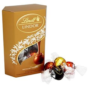Lindt Lindor, Assorted, Irresistibly Smooth 200G- Combined With X'Mas Goodies