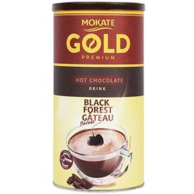 Mokate Gold Black Forest Gateau Flavour Hot Chocolate Drink Powder 150g