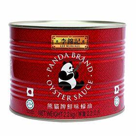 Lee Kum Kee Panda Oyster Sauce - 2.2 KG