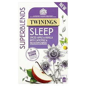 Twinings Superblends Sleep Spiced Apple & Vanilla with Chamomile & Passionflowers, 20 Bags - 30g