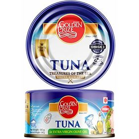 Golden Prize Tuna Chunks in Extra Virgin Olive Oil, 185g