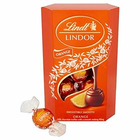 Lindt Limited Edition Lindor Orange Milk Chocolate Truffles (200g)