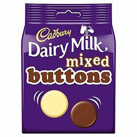 Cadbury Dairy Milk Mix Buttons, 115g