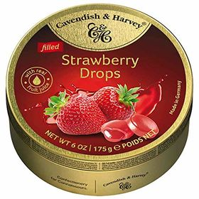 Cavendish & Harvey Drops Strawberry, 175g