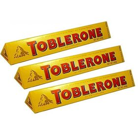 Mondelez Tone Milk Toblerone Combo, 3 x 100 g