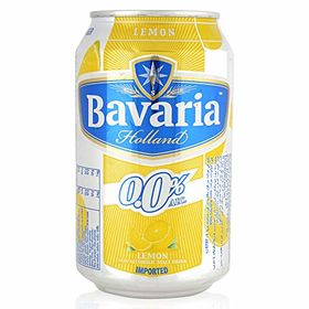 Bavaria Holland Non Alcoholic Malt Drink Lemon Can, 330ml