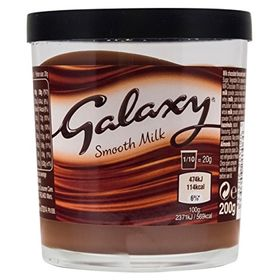 Mars Galaxy Smooth Milk Chocolate Spread, 200g