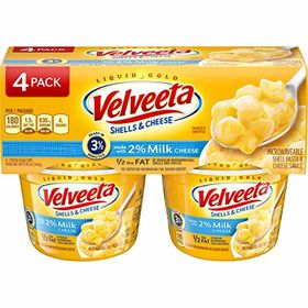 Kraft Velveeta Shells & Cheese Cups Made with 2% M