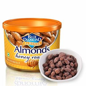 Blue Diamond Almonds, Honey Roasted, 150g