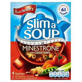 Batchelors Slim A Soup Minestrone With Croutons, 61g