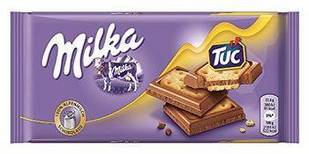 Milka Chocolate Tuc Cracker, 87g