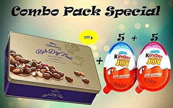 CADBURY & KINDER JOY COMBO PACK