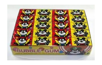 Marukawa Fusen Bubble Gum 60 Pcs Box, 249g