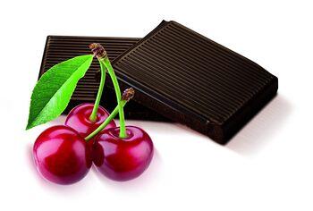 The Belgian Bar Dark Cherry Chocolate Bar, 100g
