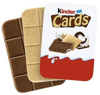 Kinder cards - 128 g