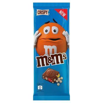 M&Ms Crispy Chocolate Bar 100g