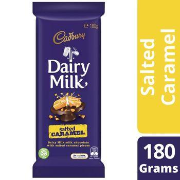 Cadbury Dairy Milk Salted Caramel Block 180g