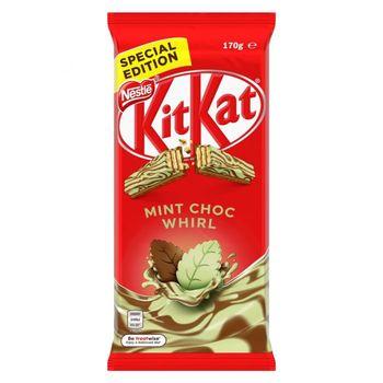 KitKat Mint Choc Whirl Block 170g