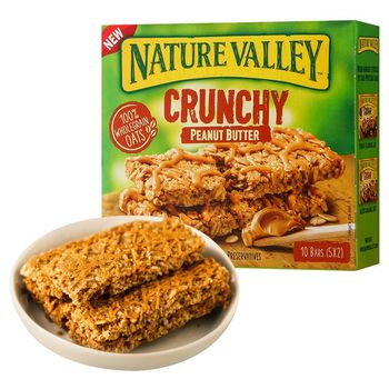Nature Valley Crunchy Peanut Butter Pouch, 210 g