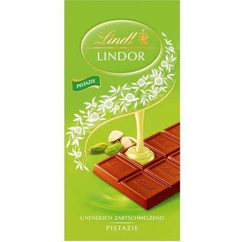 LINDT LINDOR - PISTACHIO MILK CHOCOLATE - 100G