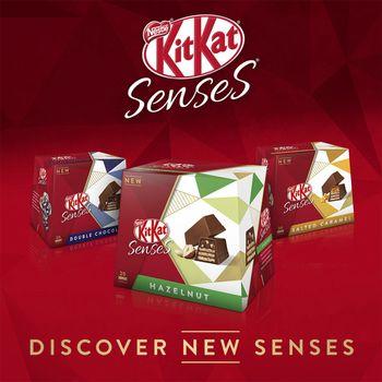 Kit Kat Senses Assorted Box 20 Bite Size Pieces 200G