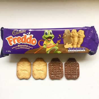 Cadbury Freddo Milk Chocolate Biscuit, 167g